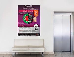 Avukat Poster Tasarımı