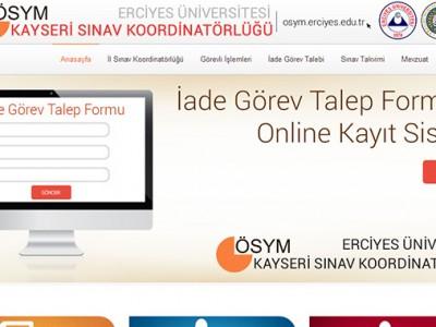 ÖSYM Erciyes Üniversitesi Sınav Koordinatörlüğü
