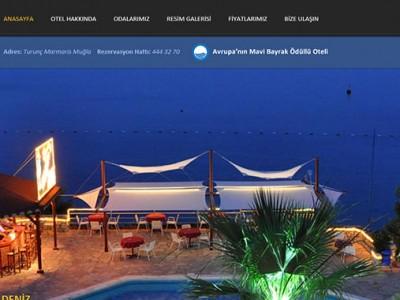 Hotel Mavi Deniz Web Sayfa Tasarımı