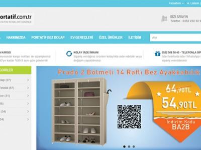 Portatif.com.tr E-ticaret Sitesi