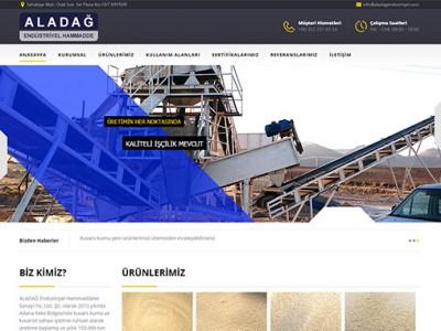 Aladağ Endüstriyel Web Sayfa Tasarımı
